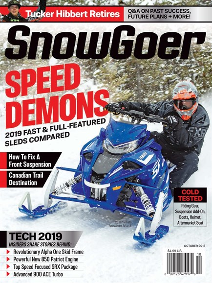 Snow Goer Cover - 10/1/2018