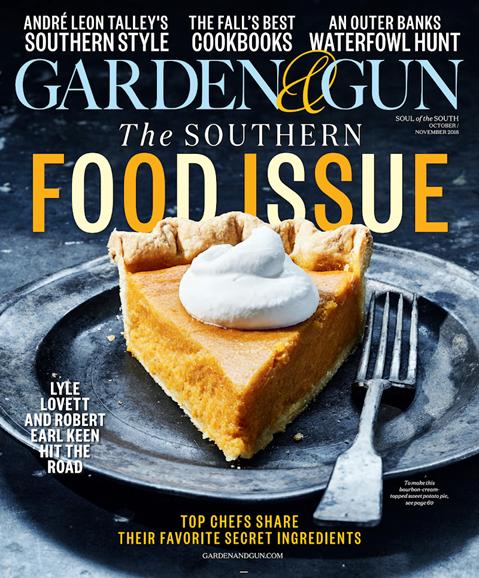 Garden & Gun Cover - 10/1/2018