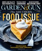Garden & Gun Magazine | 10/2018 Cover