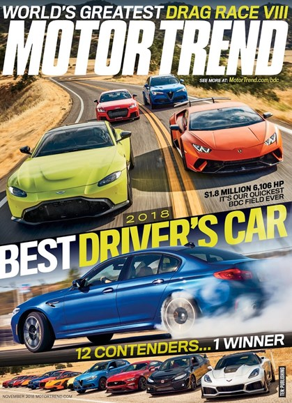 Motor Trend Cover - 11/1/2018
