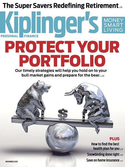 Kiplinger's Personal Finance Cover - 11/1/2018