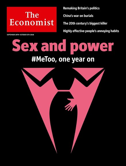 The Economist Cover - 9/29/2018