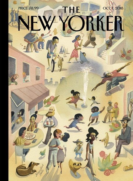 The New Yorker Cover - 10/1/2018