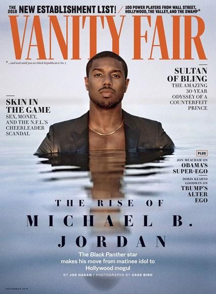 Vanity Fair Cover - 11/1/2018