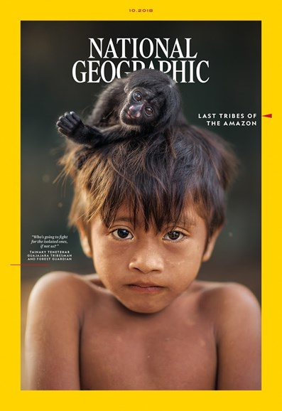 National Geographic Cover - 10/1/2018