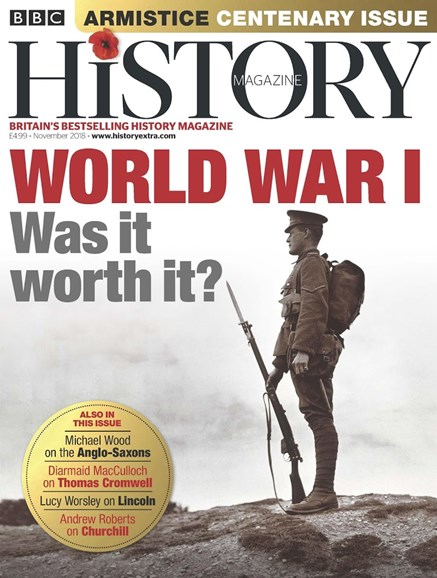 BBC History Cover - 11/1/2018