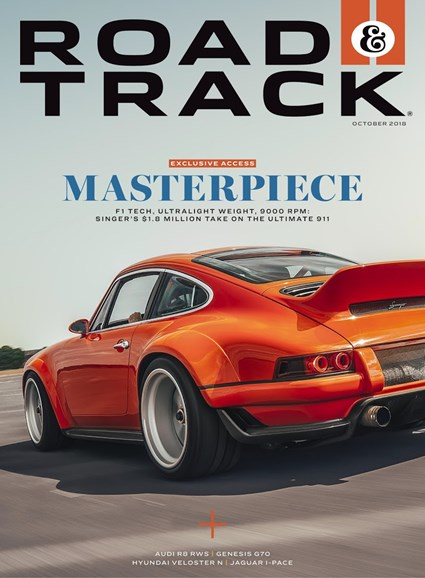 Road & Track Cover - 10/1/2018