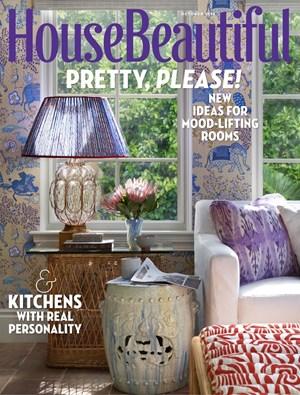 House Beautiful Magazine 10 2018 Cover