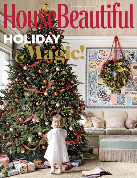 House Beautiful Cover - 12/1/2016