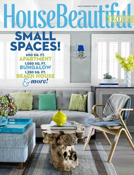 House Beautiful Cover - 7/1/2016