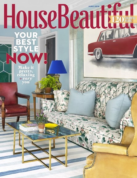 House Beautiful Cover - 6/1/2016