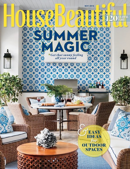 House Beautiful Cover - 5/1/2016