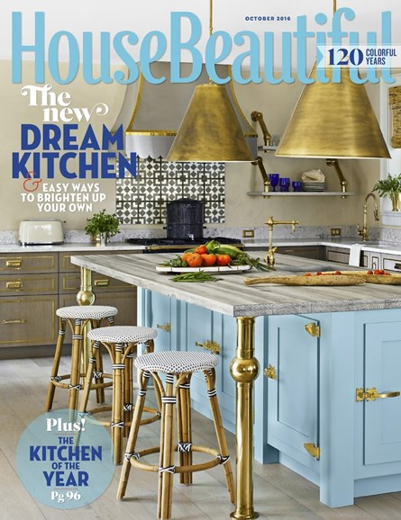 House Beautiful Cover - 10/1/2016