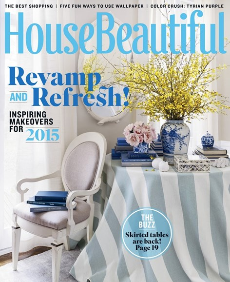 House Beautiful Cover - 2/1/2015