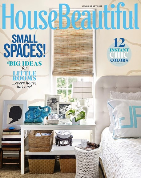 House Beautiful Cover - 7/1/2015