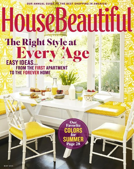 House Beautiful Cover - 5/1/2015
