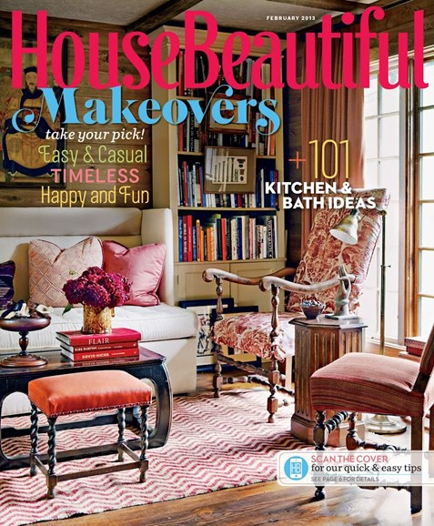 House Beautiful Cover - 2/1/2013