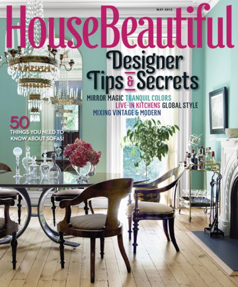 House Beautiful Cover - 5/1/2013
