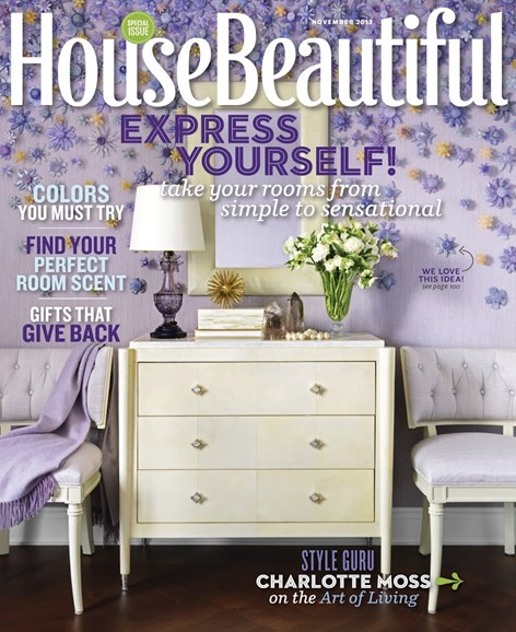 House Beautiful Cover - 11/1/2013