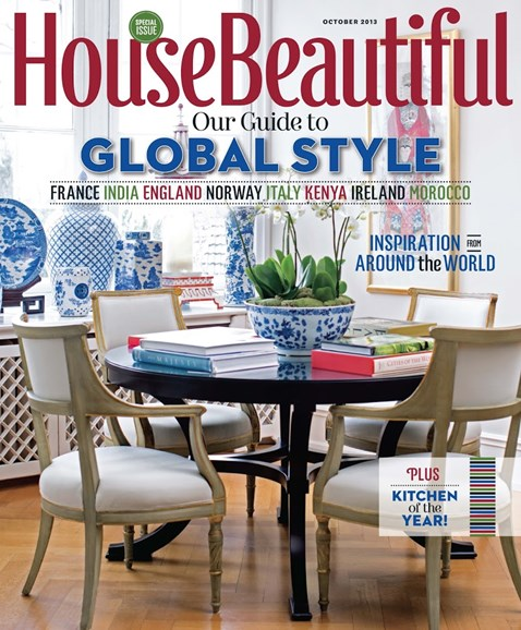 House Beautiful Cover - 10/1/2013