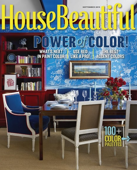 House Beautiful Cover - 9/1/2013