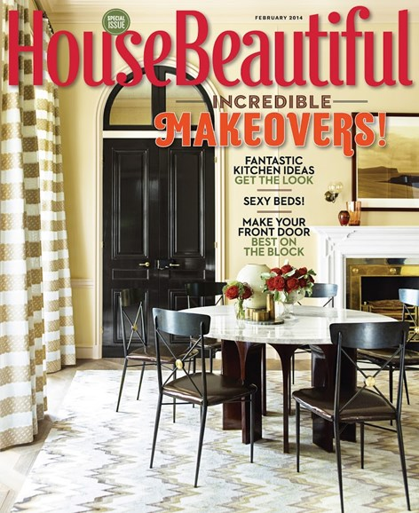 House Beautiful Cover - 2/1/2014