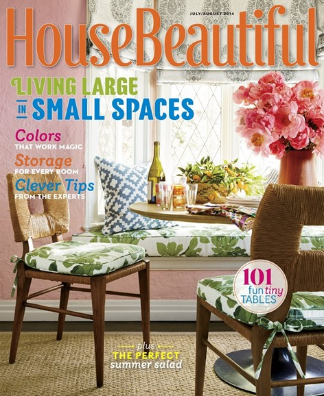 House Beautiful Cover - 7/1/2014