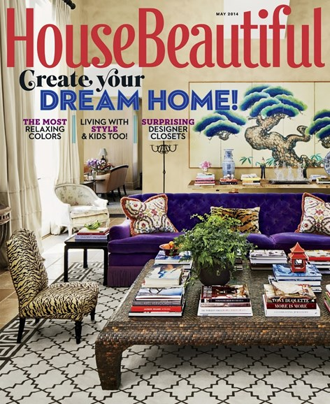 House Beautiful Cover - 5/1/2014