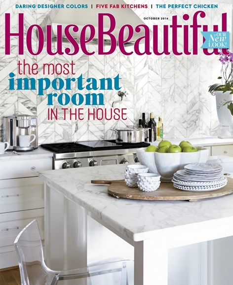 House Beautiful Cover - 10/1/2014