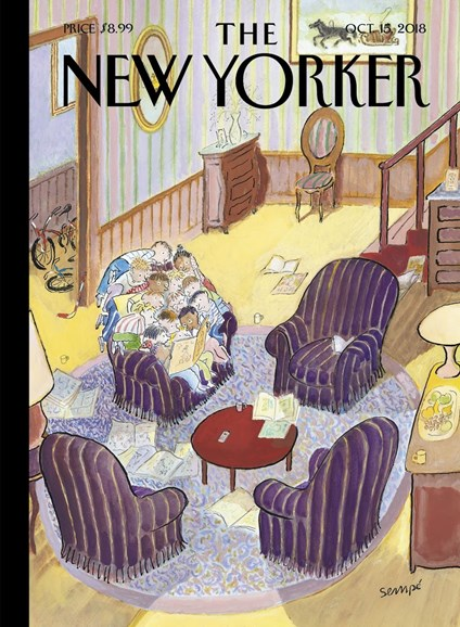 The New Yorker Cover - 10/15/2018