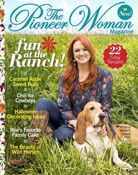 The Pioneer Woman Cover - 9/1/2017