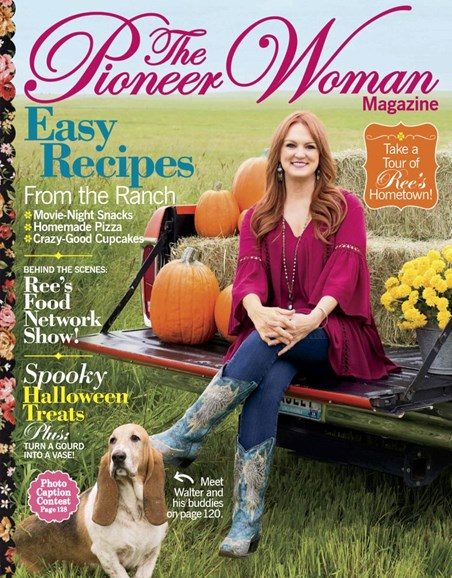 The Pioneer Woman Cover - 9/1/2018