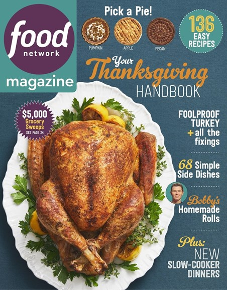 Food Network Cover - 11/1/2018