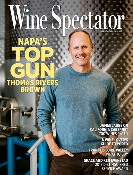 Wine Spectator Cover - 11/15/2018