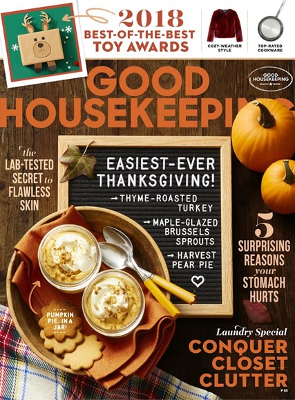 Good Housekeeping Cover - 11/1/2018
