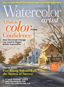 Watercolor Artist Magazine | 11/2018 Cover