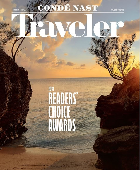 Condé Nast Traveler Cover - 10/1/2018