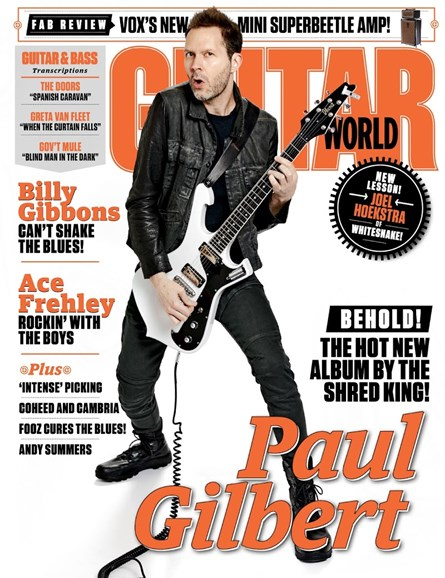 Guitar World Cover - 12/1/2018
