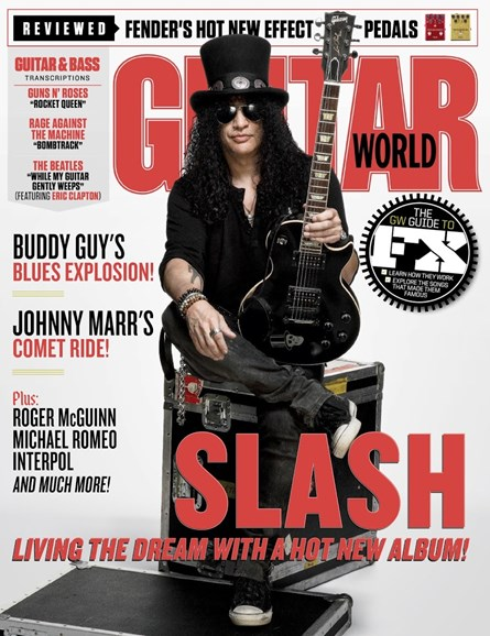 Guitar World Cover - 11/1/2018