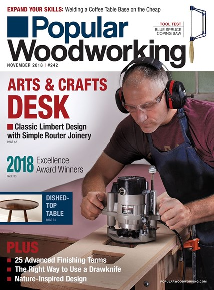 Popular Woodworking Cover - 11/1/2018