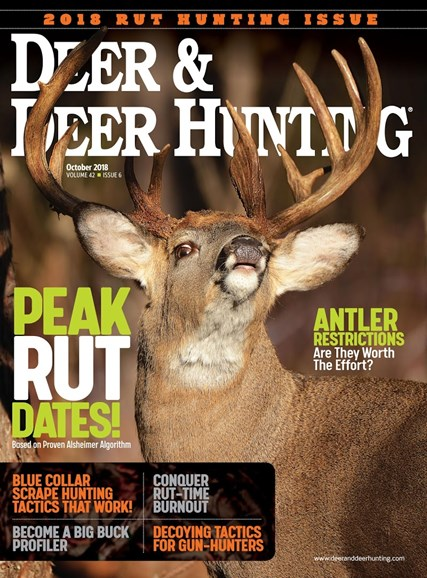 Deer & Deer Hunting Cover - 10/1/2018