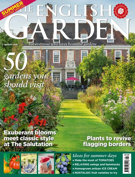 The English Garden Cover - 8/1/2018