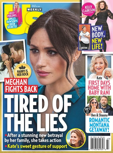 Us Weekly Cover - 10/22/2018