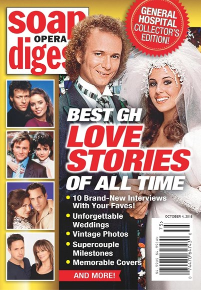 Soap Opera Digest Cover - 10/1/2018