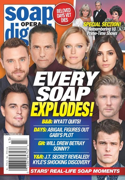 Soap Opera Digest Cover - 10/22/2018