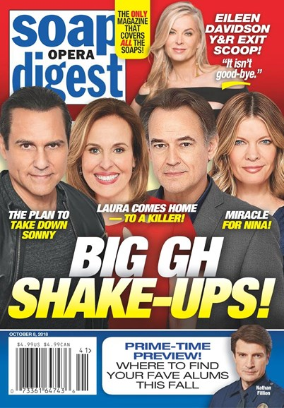 Soap Opera Digest Cover - 10/8/2018