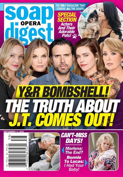 Soap Opera Digest Cover - 9/17/2018