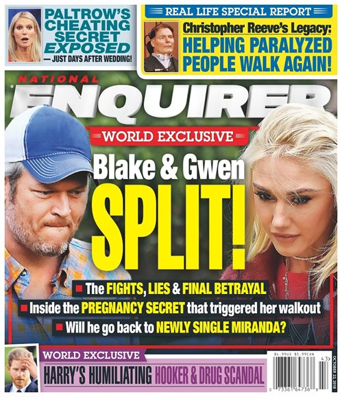National Enquirer Cover - 10/22/2018