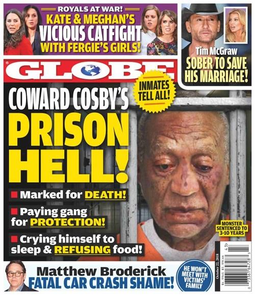 Globe Cover - 10/22/2018