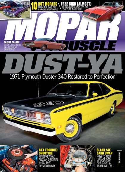 Mopar Muscle Cover - 1/1/2019